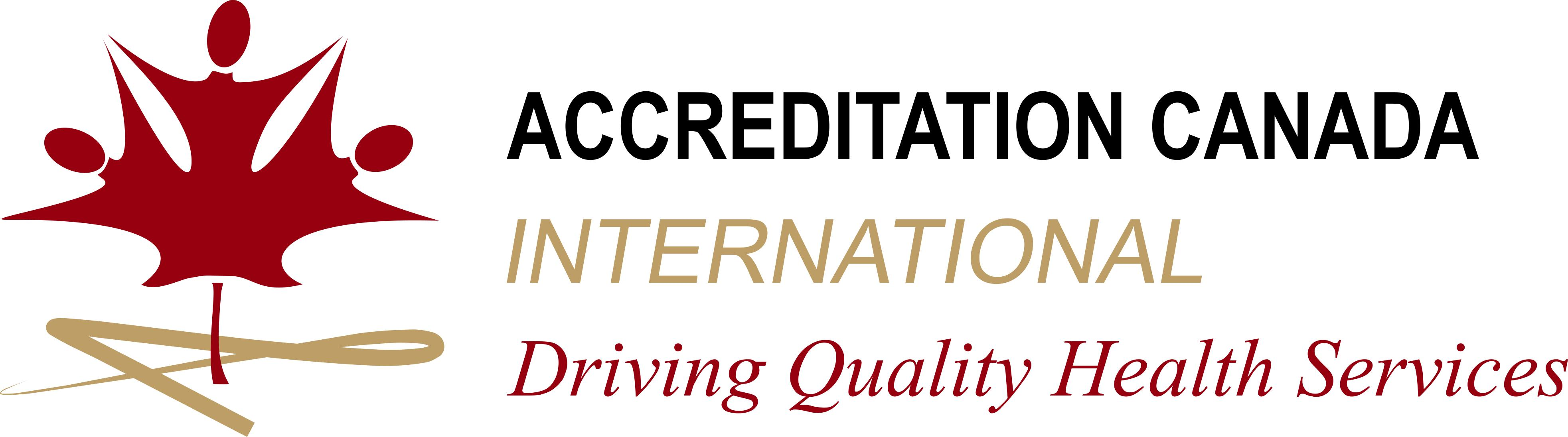 Logotipo de Accreditation Canada International
