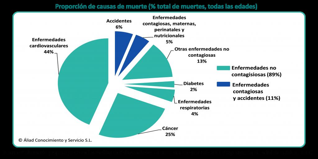 Consultoria de Salud Principales causas de muerte