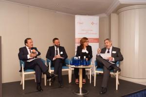 Mesa de debate del X Encuentro sobre Excelencia en Sanidad