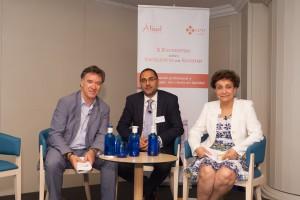 Integrantes de la primera mesa del X Encuentro sobre Excelencia en Sanidad