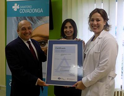 Sanatorio Covadonga, acreditación SEP e ISO 9001:2015