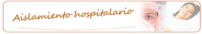 curso de aislamiento hospitalario