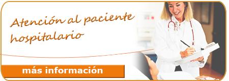Atención al paciente hospitalario