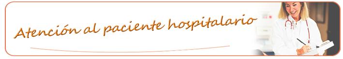 Curso de atención al paciente hospitalario