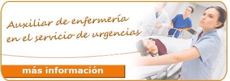 Auxiliares de enfermería en el servicio de urgencias