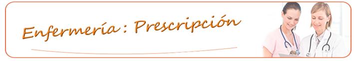 Curso de prescripción enfermera