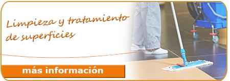 Cursos de limpieza gratuitos: Limpieza y tratamiento de superficies