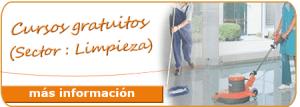 Formación gratuita para trabajadores, autónomos y desempleados: Sector Limpieza